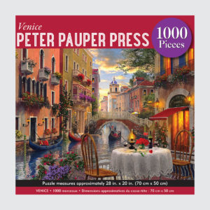 Peter Pauper Press Puzzle - Venice - 1000 pieces