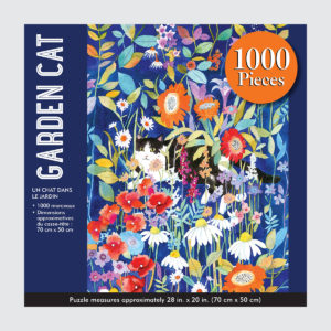 Peter Pauper Press Puzzle - Garden Cat - 1000 pieces