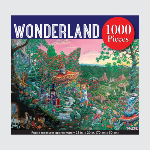 Peter Pauper Press Puzzle - Wonderland - 1000 pieces