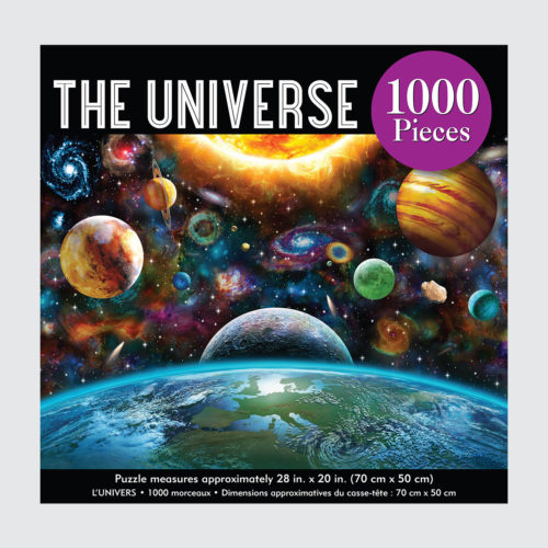 Peter Pauper Press Puzzle - The Universe - 1000 pieces