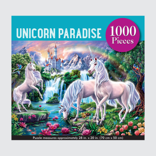 Peter Pauper Press Puzzle - Unicorn Paradise - 1000 pieces