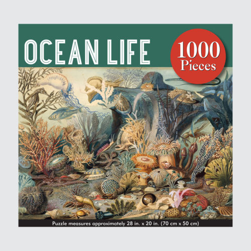 Peter Pauper Press Puzzle - Ocean Life - 1000 pieces