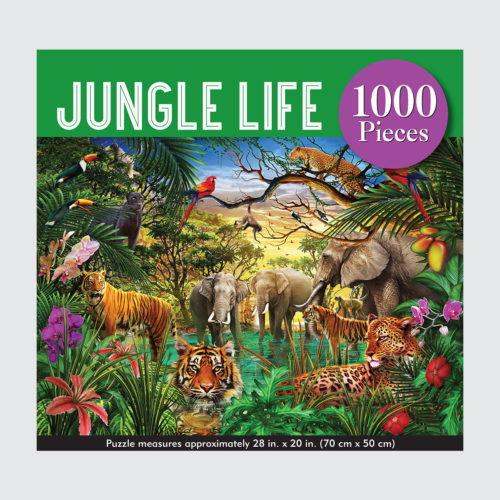 Peter Pauper Press Puzzle - Jungle Life - 1000 pieces