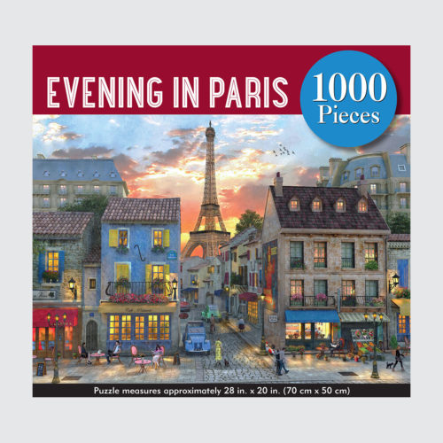 Peter Pauper Press Puzzle Evening In Paris - 1000 pieces