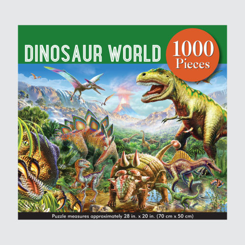 Peter Pauper Press Puzzle - Dinosaur World - 1000 pieces