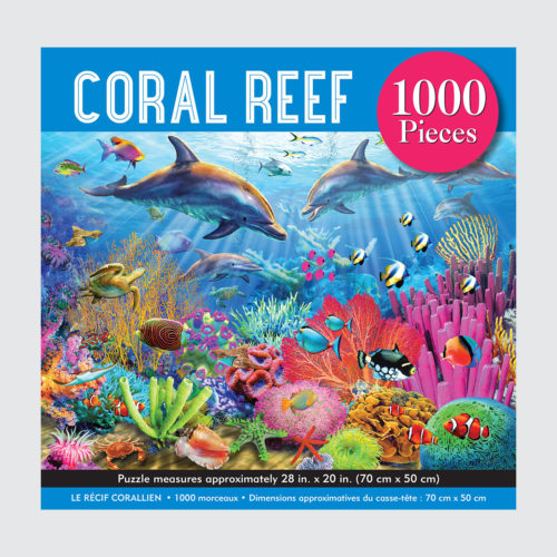 Peter Pauper Press Puzzle - Coral Reef - 1000 pieces