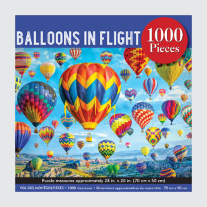 Peter Pauper Press Puzzle - Balloons In Flight - 1000 pieces