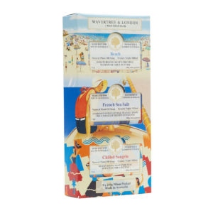 Wavertree & London Soap Trio - Beach, D'Camargue Sea Salt and Chilled Sangria