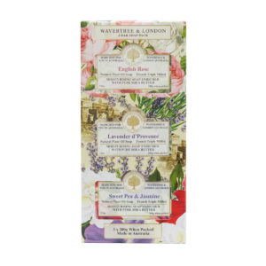 Wavertree & London Soap Trio