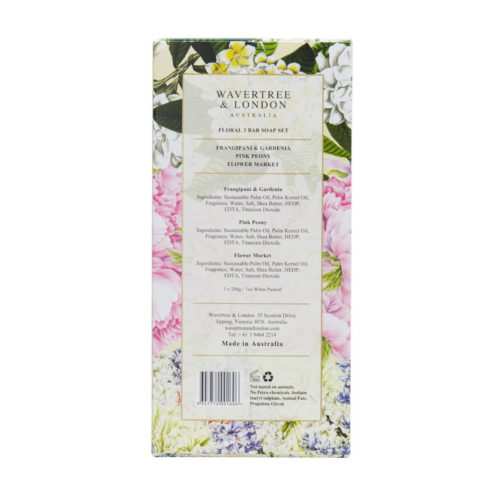 Wavertree & London Soap Trio - Floral
