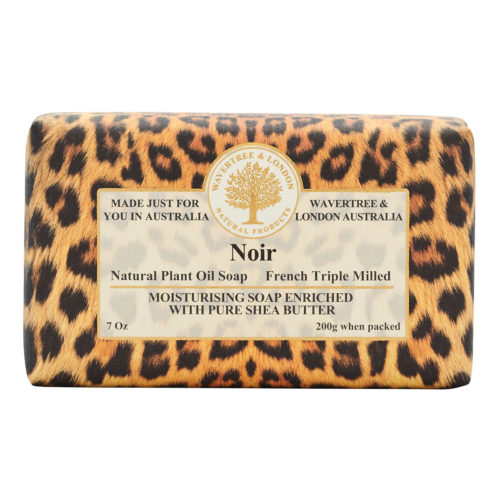Wavertree & London Soap - Noir