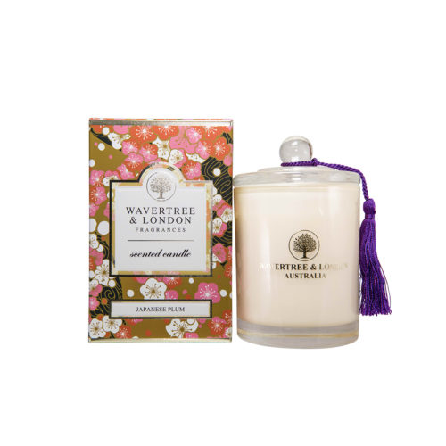 Wavertree & London Candle - Japanese Plum