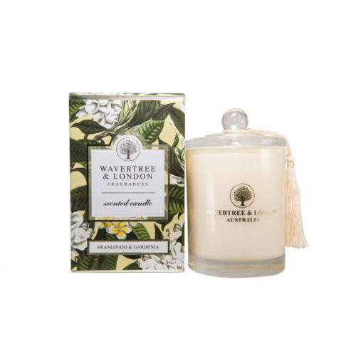 Wavertree & London Candle - Frangipani & Gardenia