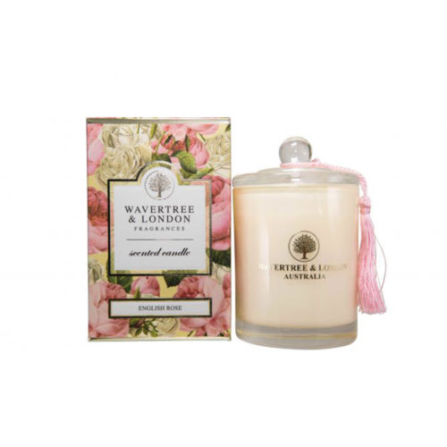 Wavertree & London Candle - English Rose