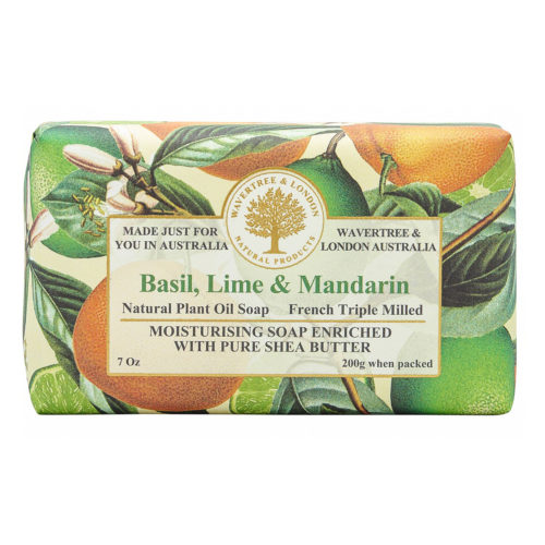 Wavertree & London Soap - Basil Lime and Mandarin