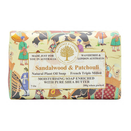 Wavertree & London Soap - Sandalwood & Patchoulli
