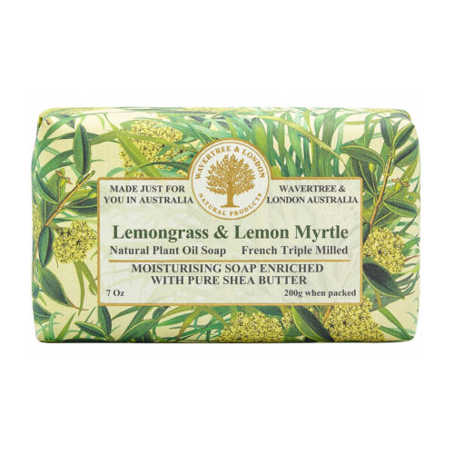 Wavertree & London Soap - Lemongrass & Lemon Myrtle