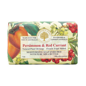 Wavertree & London Soap - Persimmon & Red Currant