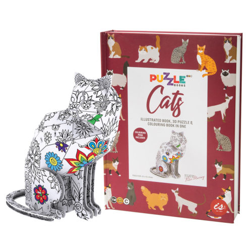 Puzzle Book - Cats