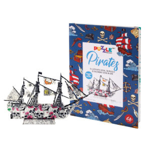 Puzzle Book - Pirates