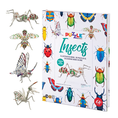Puzzle Book - Insects