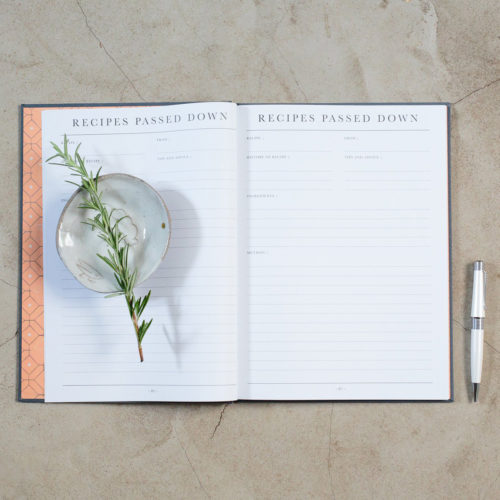 Recipes Passed Down - Grey
