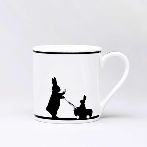 HamMade Fine China Mug - Insta Baby Rabbit