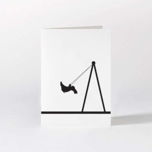 HamMade Card - Swing Rabbit