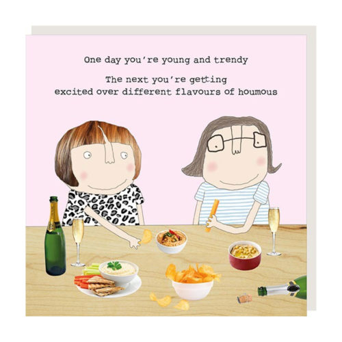 Rose Made a Thing Card - Houmous