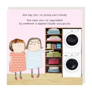 Rosie Made a Thing Card – Washer/Dyer