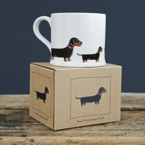 Sweet William Dog Mug - Dachshund