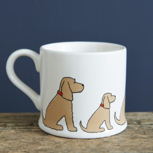 Sweet William Dog Mug - Golden Cocker Spaniel