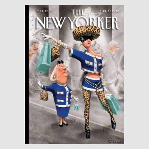 The New Yorker Card - Stiff Competition