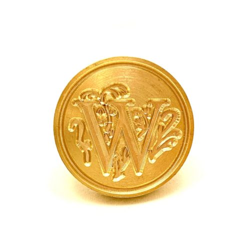 Wax Stamp Letter - W
