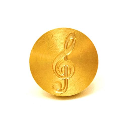 Wax Stamp Letter - Treble Clef