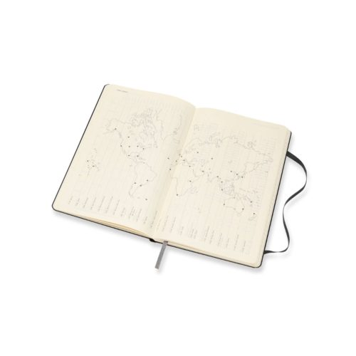 Moleskine 18 Month Hard Cover Weekly Diary - Large Black