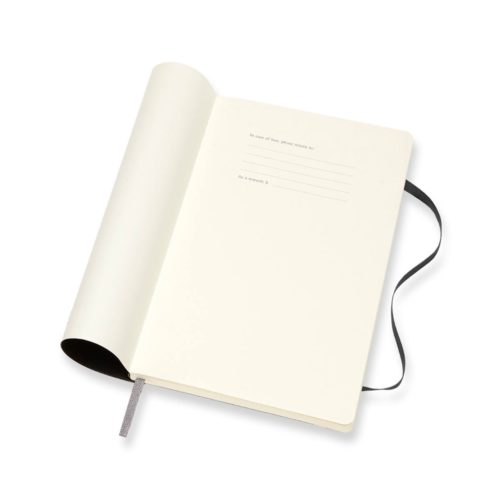 Moleskine 18 Month Soft Cover Weekly Diary - Large Black
