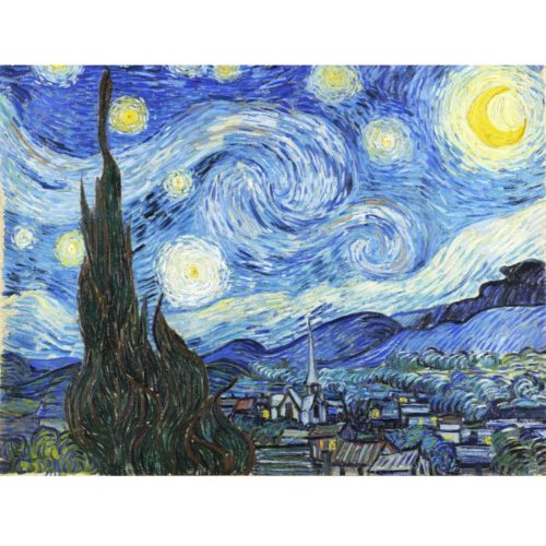1000 Piece Puzzle - Starry Night