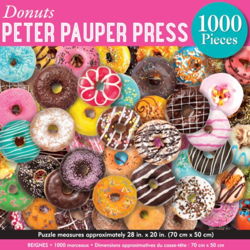 1000 Piece Puzzle - Donuts