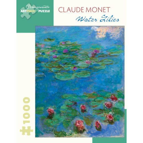 Pomegranate 1000 Piece Puzzle - Water Lillies by Claude Monet