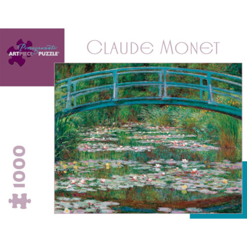 Pomegranate 1000 Piece Puzzle - The Waterlily Pond by Claude Monet