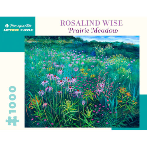 Pomegranate 1000 Piece Puzzle - Prairie Meadow by Rosalind Wise