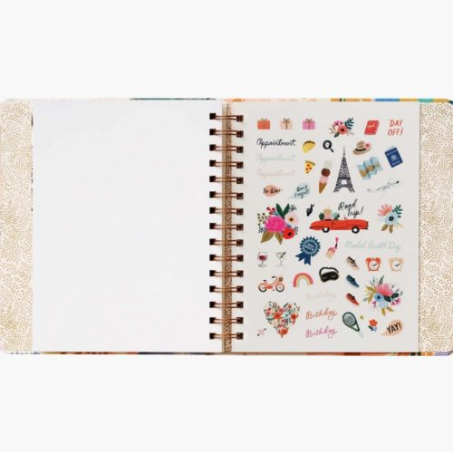 Rifle Paper Co - 2021 Covered Binder Planner - Luisa