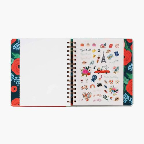 Rifle Paper Co - 2021 Covered Binder Planner - Sunglasses Girl