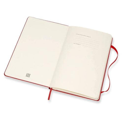 Moleskine - 2021 Hard Cover Diary - Weekly Notebook - Large - Scarlet Red