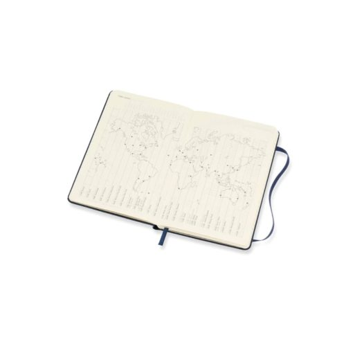 Moleskine - 2021 Hard Cover Diary - Weekly Notebook - Pocket - Sapphire Blue