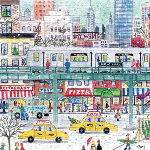 500 Piece Puzzle - New York City Subway By Michael Storrings