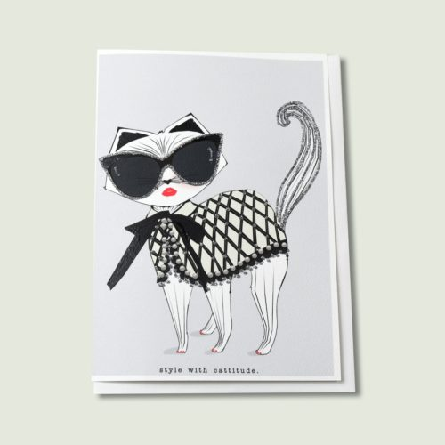 Verrier Card - Style with Cattitude