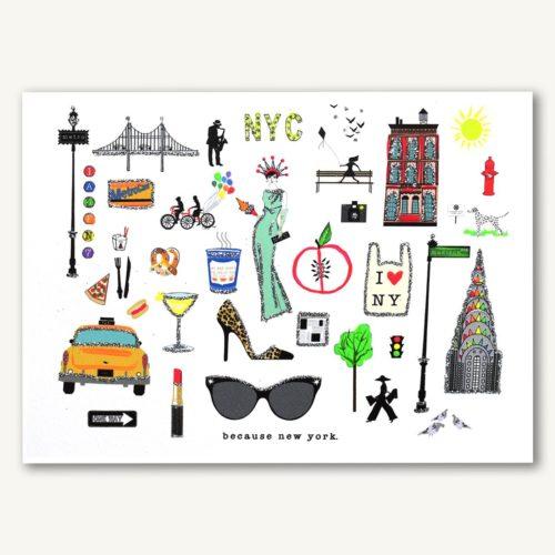 Verrier Card - Because New York