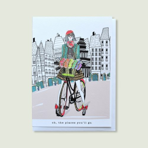 Verrier Card - Oh, The Places You'll Go